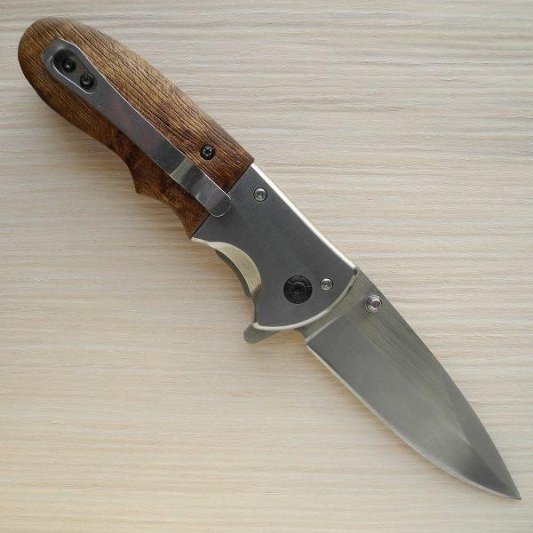 складной нож с инкрустацией
