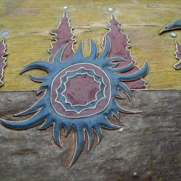 панно неведомое солнце фрагмент 1